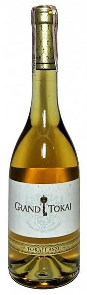 Вино Grand Tokaj 2013 бел.дес 0,5л 9,5% (Венгрия, ТМ Grand Tokaj)