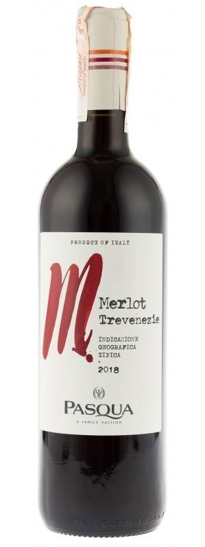 Вино Merlot delle Venezie IGT Pasqua кр.сух 0,75л 12% (Италия,Veneto,TM Pasqua)