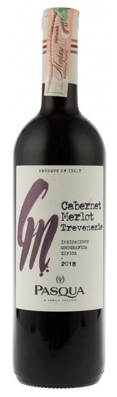 Вино Cabernet Merlot Venezie IGT Pasqua кр.сух 0,75л 12,5% (Италия,Veneto,TM Pasqua)