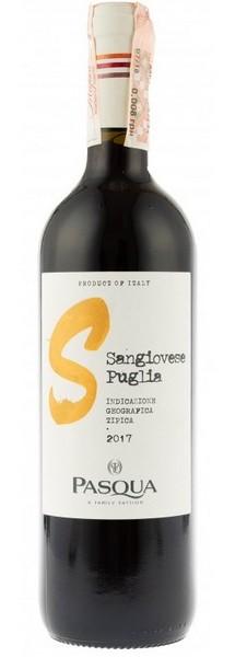 Вино Sangiovese di Puglia IGT Pasqua кр.сух 0,75л 12% (Италия,Puglia,TM Pasqua)