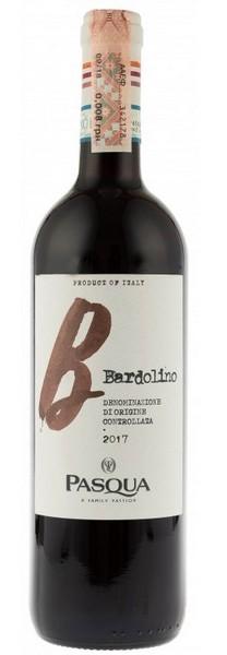 Вино Pasqua Bardolino DOC Pasqua кр.сух 0,75л 11,5% (Италия,Veneto,TM Pasqua)