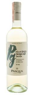 Вино Pinot Grigio – Garganega IGT бел.сух 0,75л 12% (Италия,Veneto,TM Pasqua)