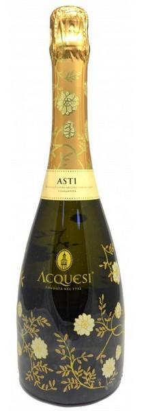 Вино Acquesi игристое Asti DOCG Spum бел.п/сл 0,75л 7% (Италия, Пьемонт, ТМ Acquesi)