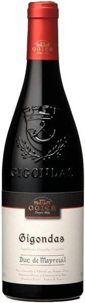 Вино Ogier Dentellis кр.сух 0,75л 14,5% (Франция,Жигондас, ТМ Ogier)