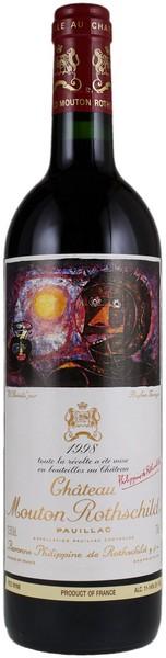 Вино Maison Sichel Chateau Mouton Rothschild 2012 кр.сух 0,75л 13% (Франция, Pauillac,ТМMaison Sichel)