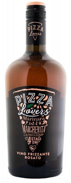 Вино игристое Pizza Lovers Vino Frizzante Rosato роз.п/сух 0,75л 11% (Италия, Тревенето, ТМ Pizza Lovers)