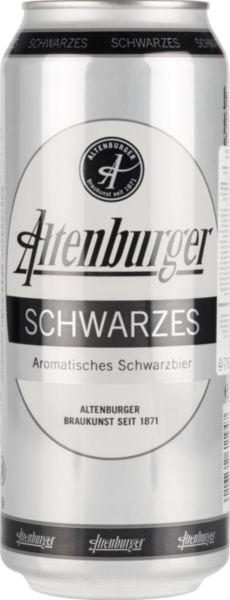 Пиво темное Schwarze 0,5л 4,9% ж/б (Германия, ТМ ABG)
