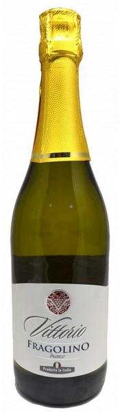 Вино игристое Vittorio Fragolino бел.п/сл 0,75л 7,5% (Италия, Эмилия-Романия,ТМ Vittorio)