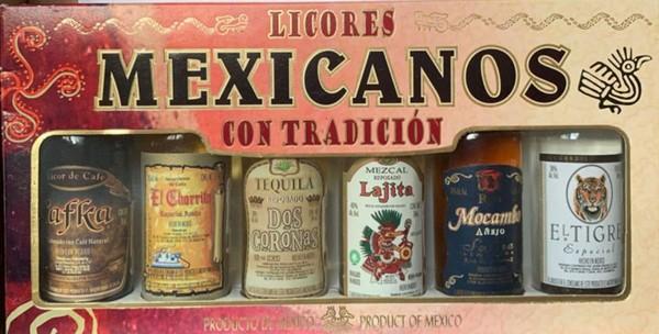 Набор Mexican with tradition 6*0,05л кор. (Мексика, ТМ Veracruz)