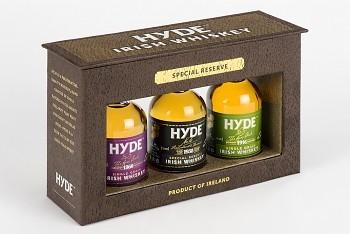 Набор виски Hyde 6*/5*/3* 3*0,05л 46% кор (Ирландия, ТМ Hyde)