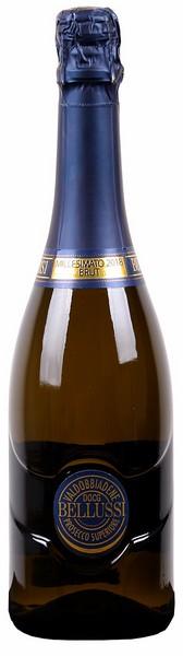 Вино игр.Prosecco Valdob Superiore DOCG бел.брют 0,75л 11% (Италия, Вальдоббьядене, ТМ Belussi)